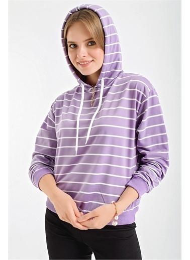 Şimal Sweatshirt Lila
